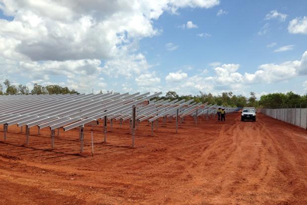 weipa solar farm