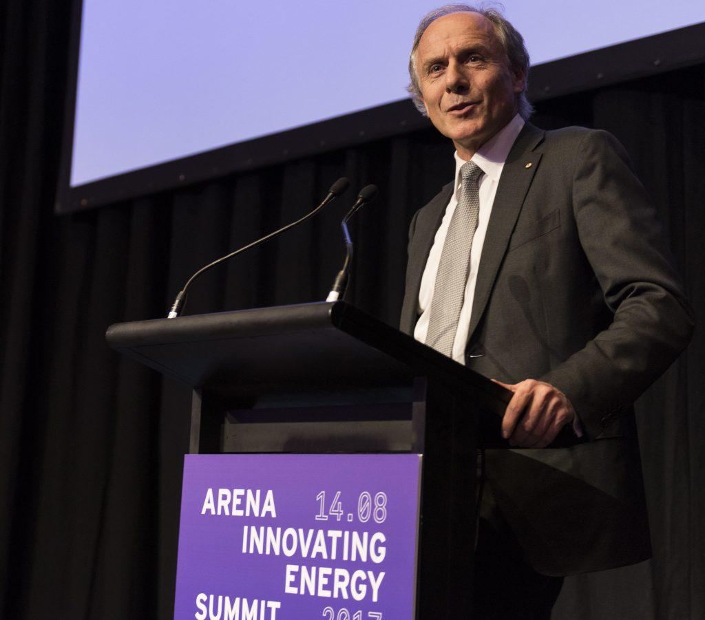 Chief Scientist Alan Finkel addresses the evening function