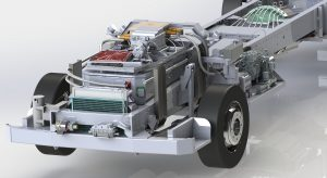 SAE Electric's electric conversion driveline