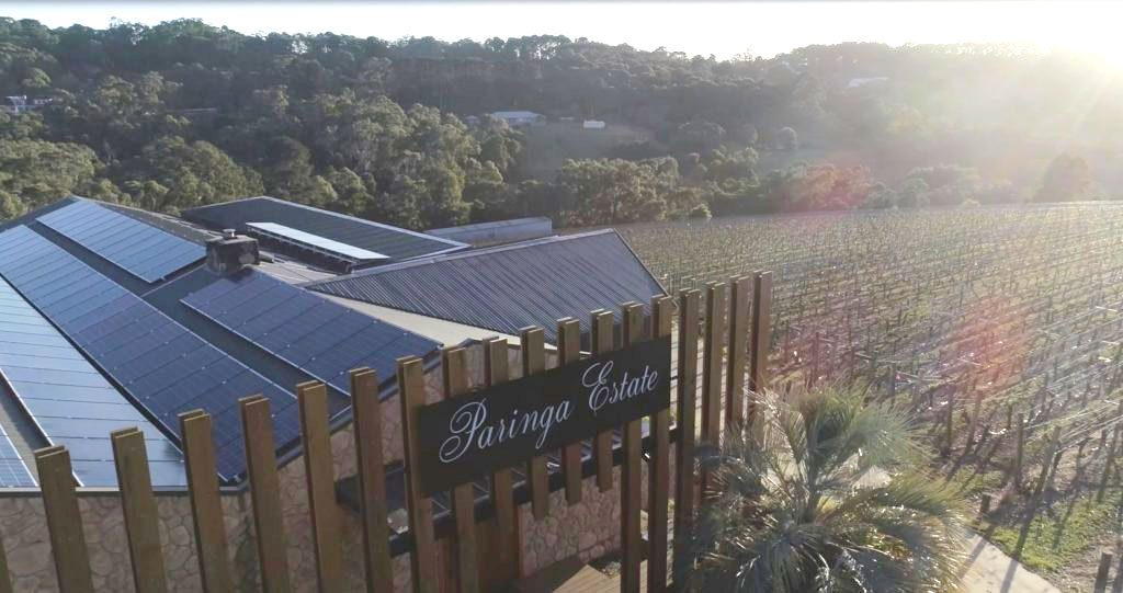 Paringa Estate on a sunny day