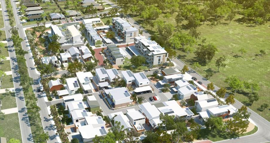 The White Gum Valley development in Fremantle, Western Australia
