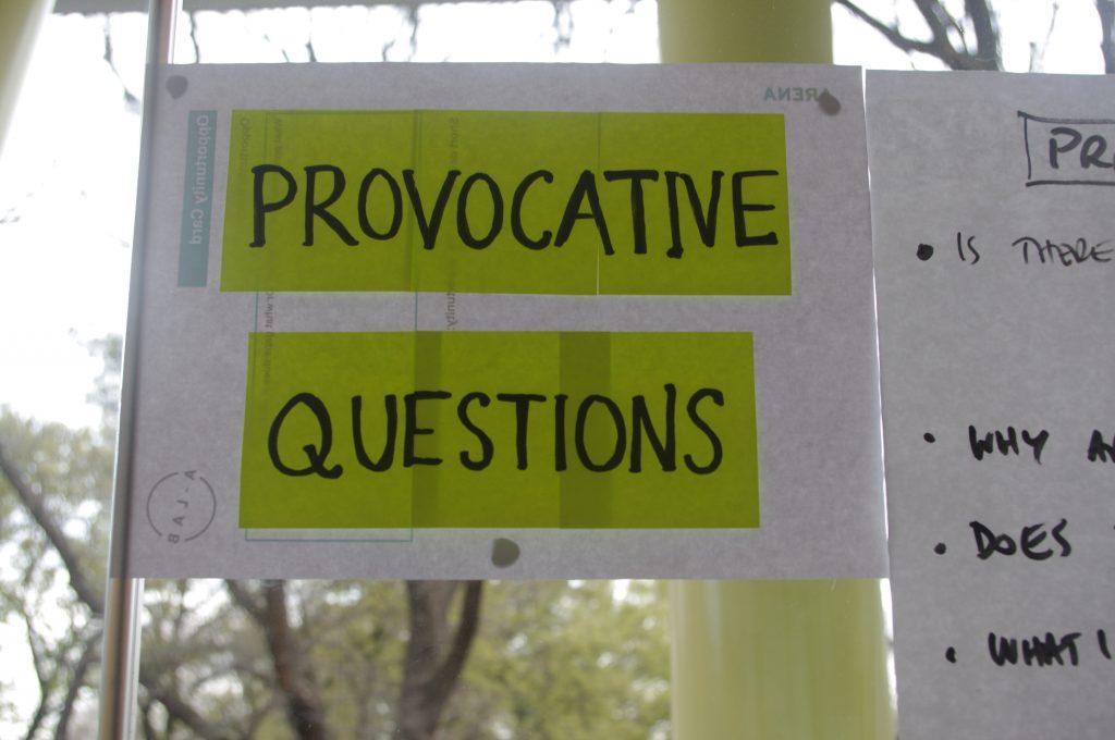 Provocative questions