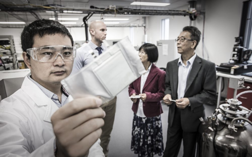 Researchers at the University of Wollongong are working on a sodium battery