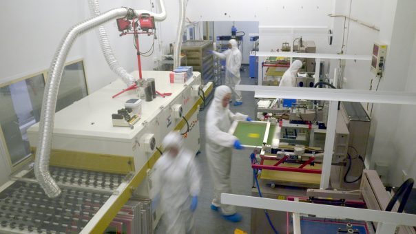 Scaling up Greatcell Solar's game changing solar cell tech