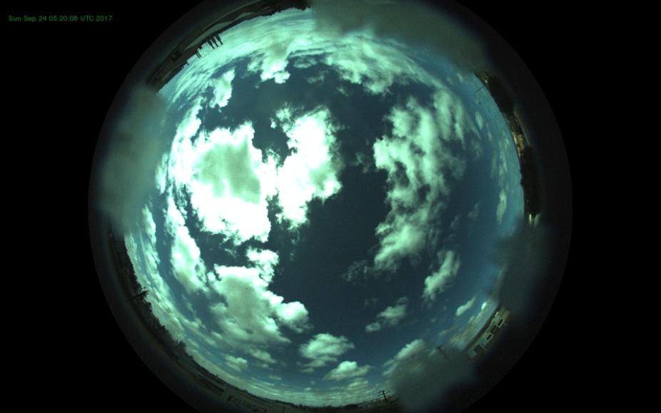Sky camera view