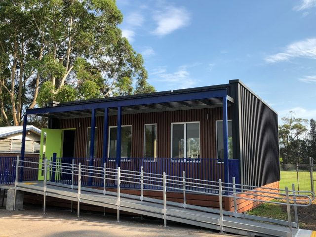 Dapto High School's HIVVE portable classroom