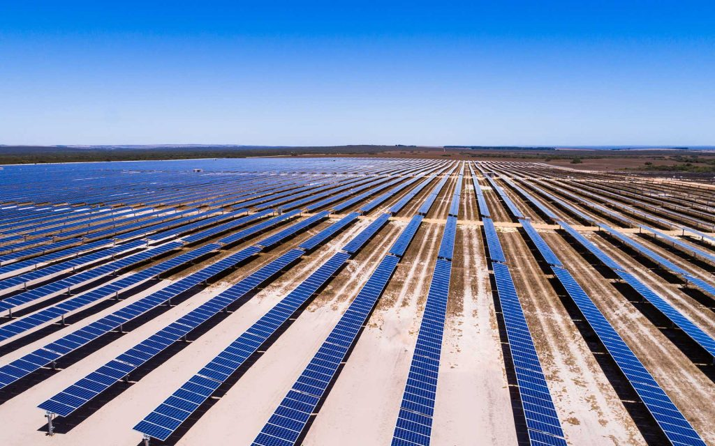 Wind and solar farm - Emu Downs