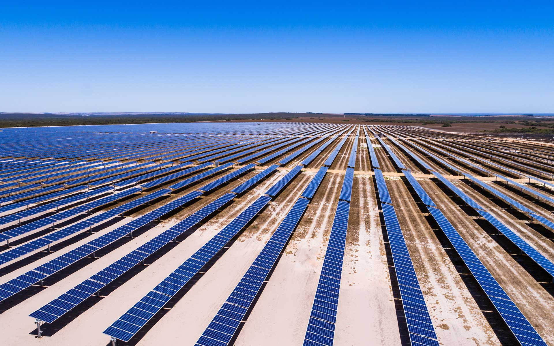 Wind and solar farm completed at Emu Downs Image