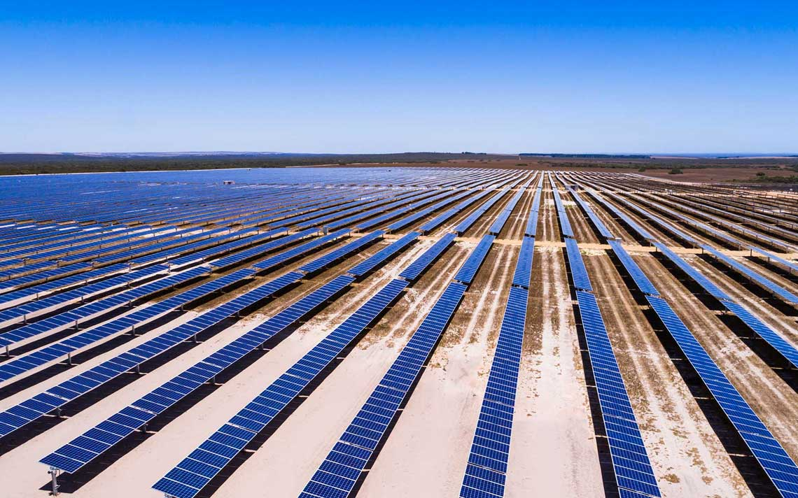 Image - Emu Downs solar farm arial view