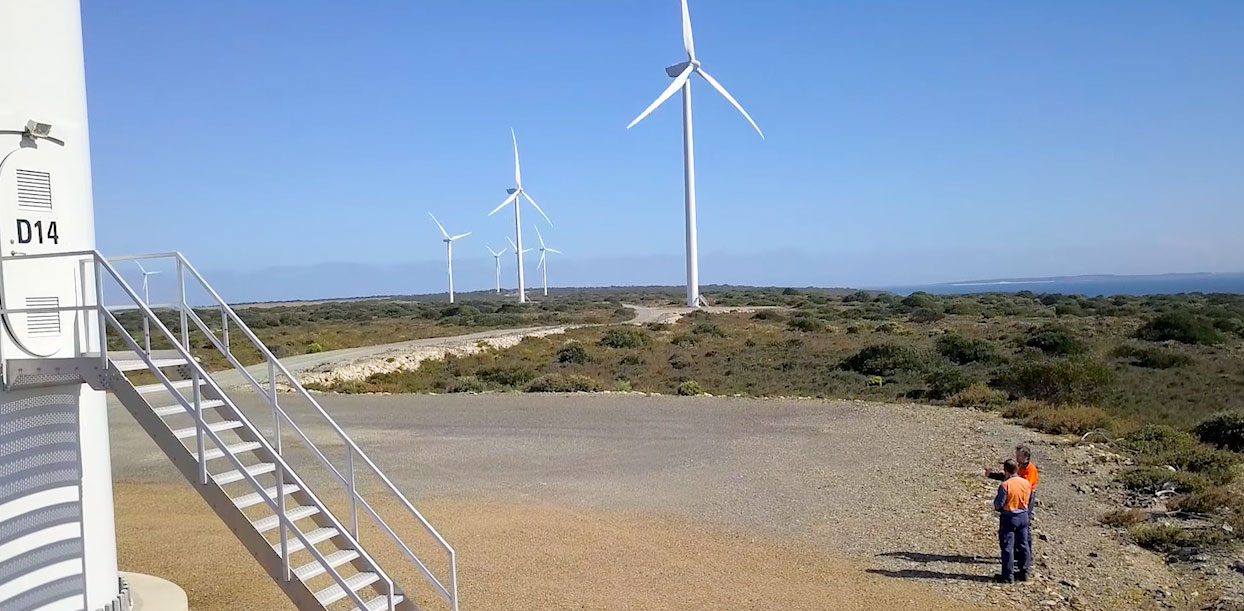 Can this Tassie wind farm provide grid-stability services? We're going to find out Image
