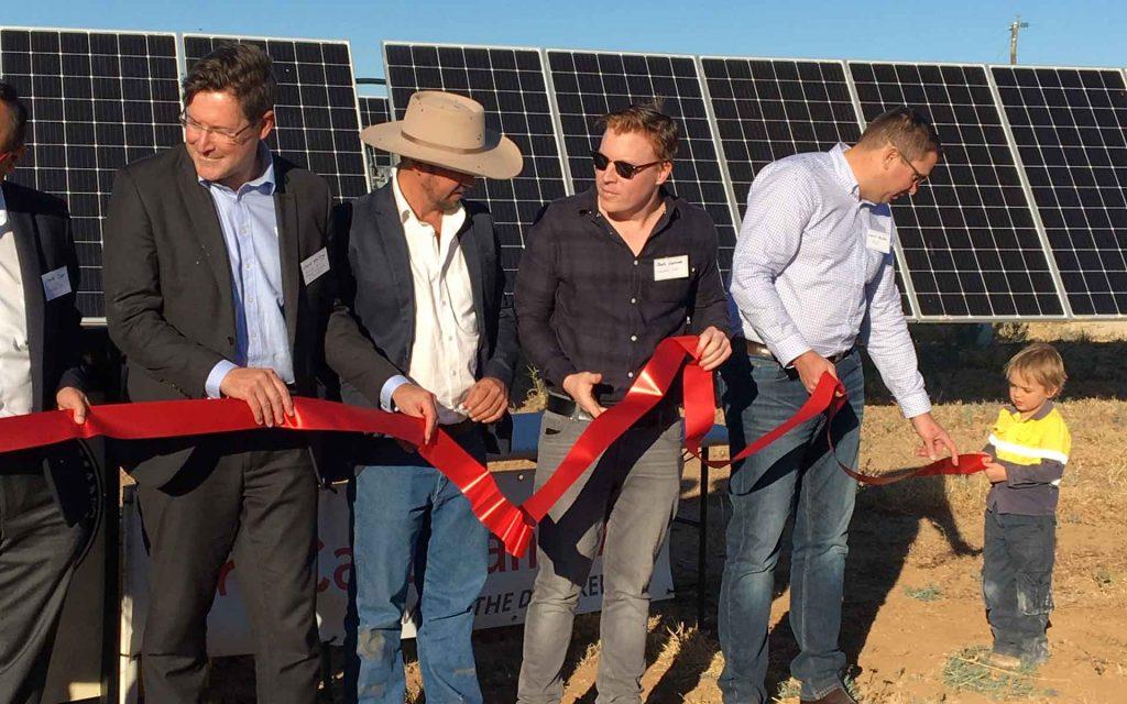 Longreach solar farm