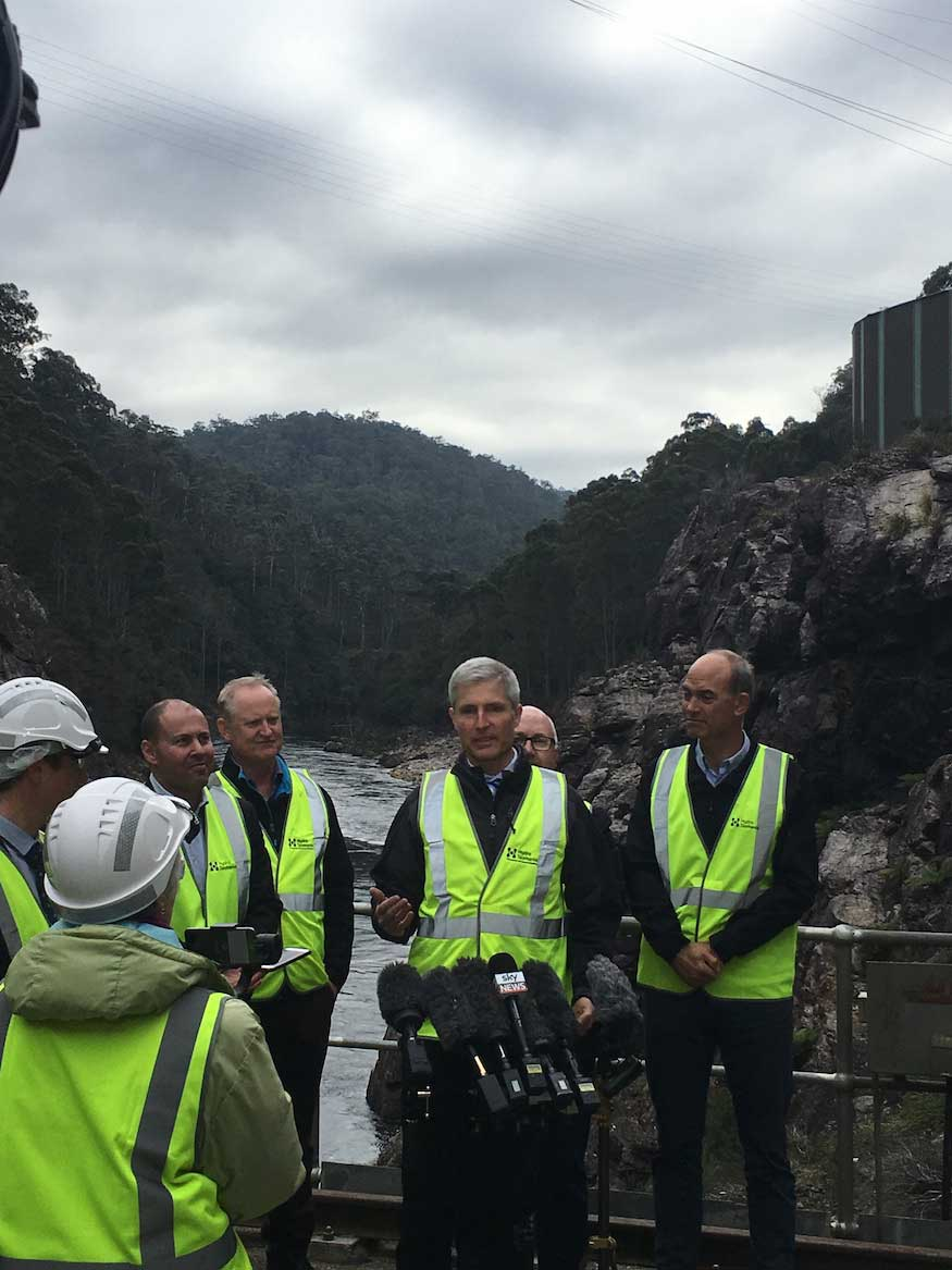 Battery of the Nation: Getting pumped about 4800MW of potential hydro in Tasmania Image