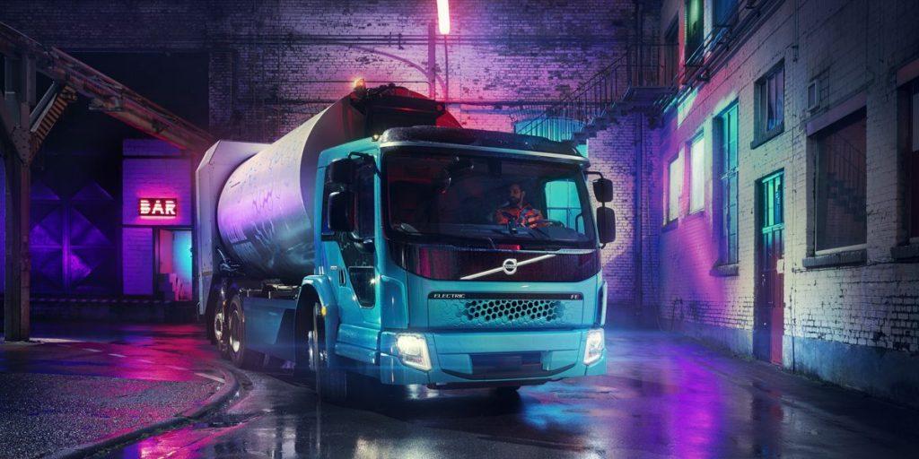 zero emission garbage truck