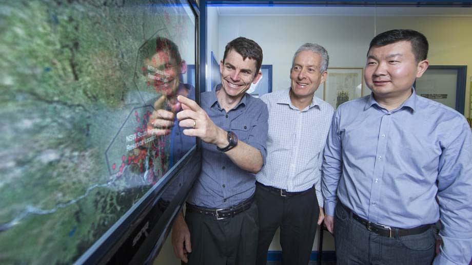 ANU pumped hydro researchers take out Eureka Prize Image
