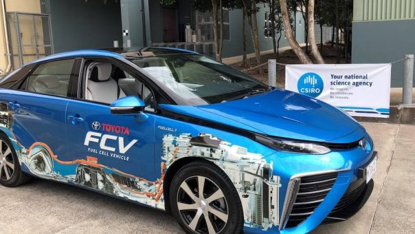 Hydrogen gives new life to Toyota's Altona car manufacturing plant