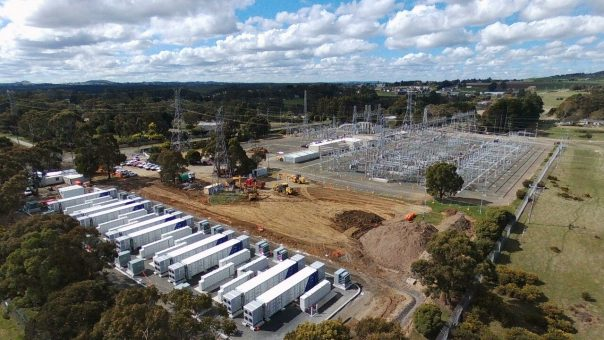 Victoria's first of two large-scale, grid-connected batteries reaches completion in Ballarat