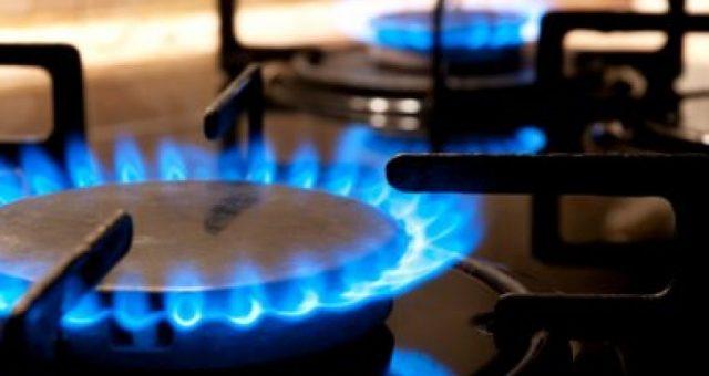 Natural gas cooktop