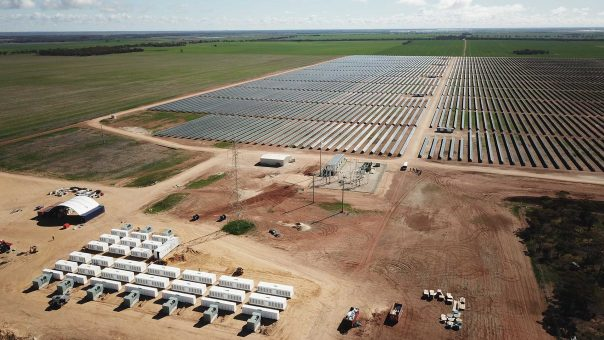 Grid scale battery powers up in Gannawarra