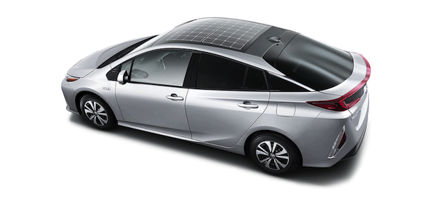 Toyota's Prius Prime hybrid model vehicle