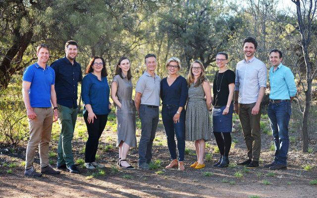 ARENA A-Lab participants in Alice Springs