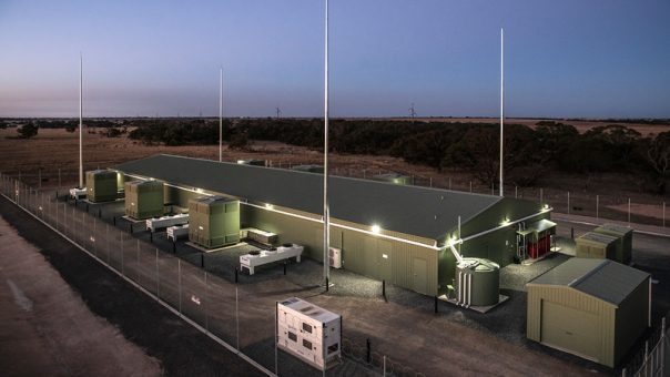 Grid scale ESCRI battery charges up in South Australia