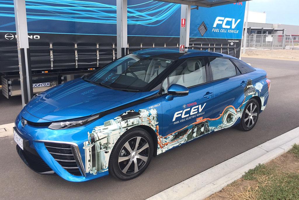Image - Toyota ecopark hydrogen demonstration