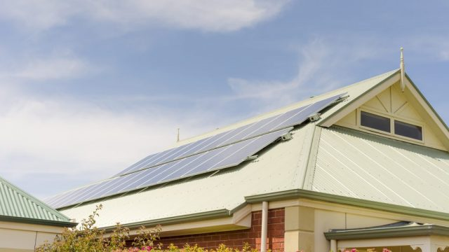 Image - Rooftop solar panels