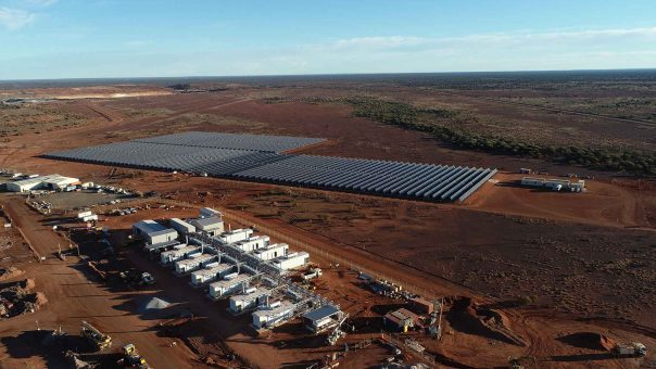 Gold Fields gold mine to be powered with wind, solar and battery