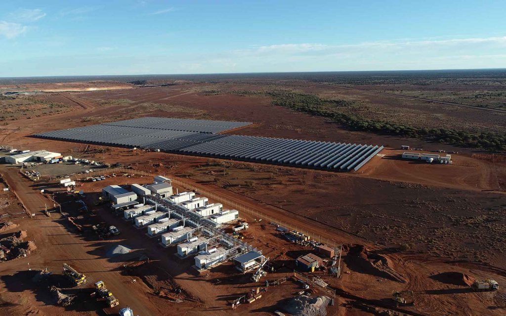 Fringe of grid mines embrace renewables Image