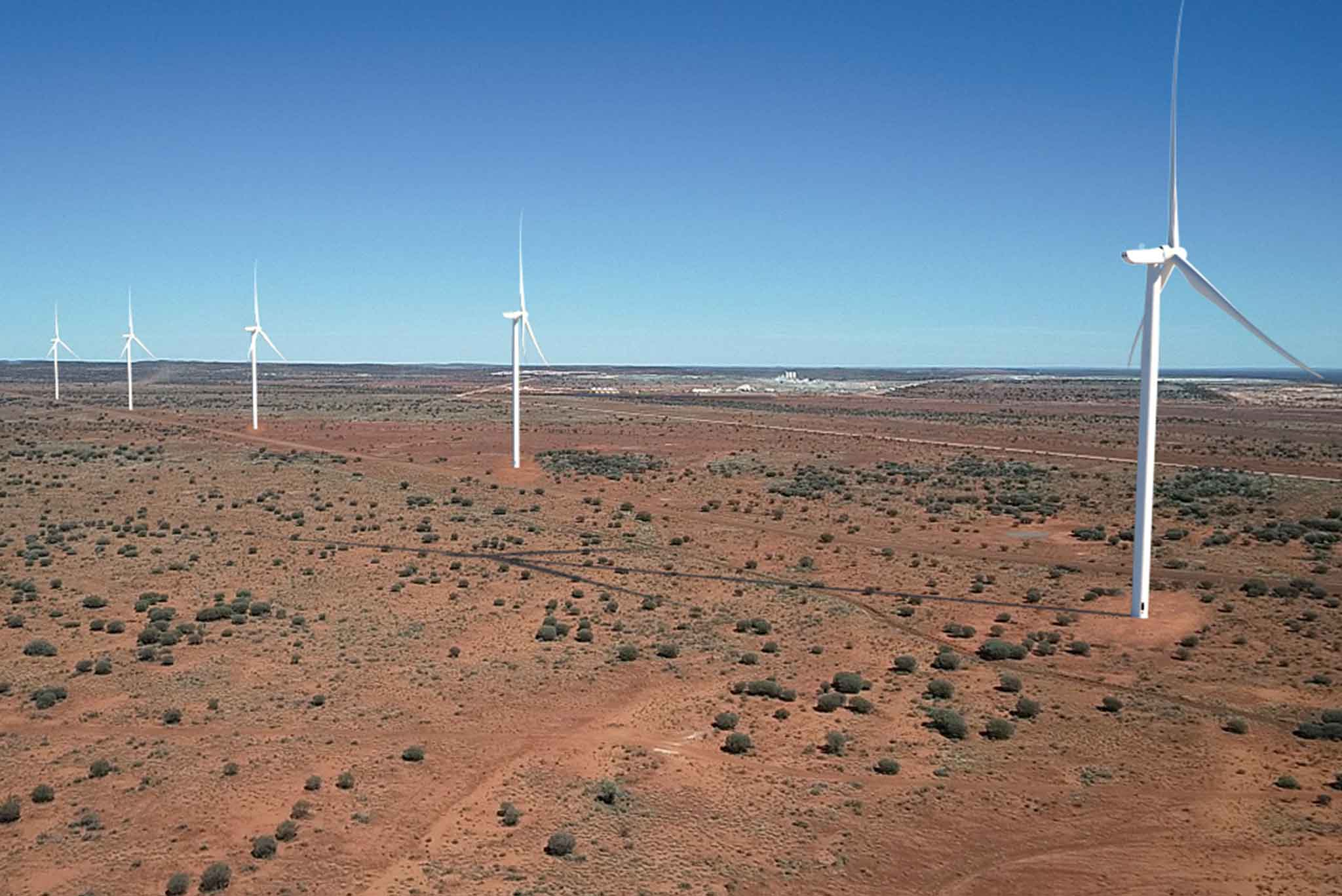 Image - energy microgrid goldfields 1Arial view of the Agnew Renewable Energy Microgrid