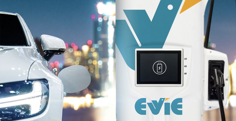 EVIE electric vehicle charging network