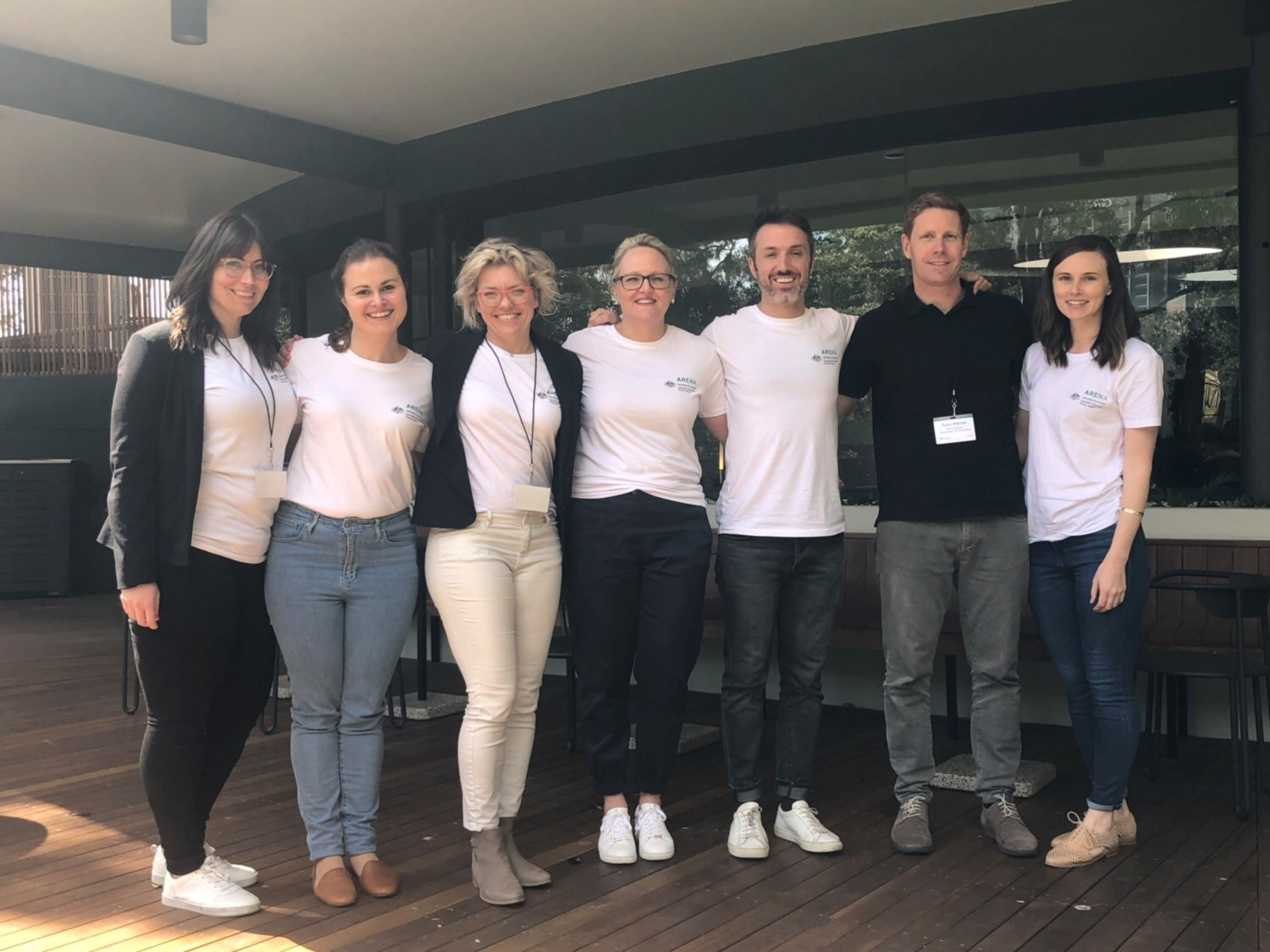ARENA staff at A-Lab incubate 2019