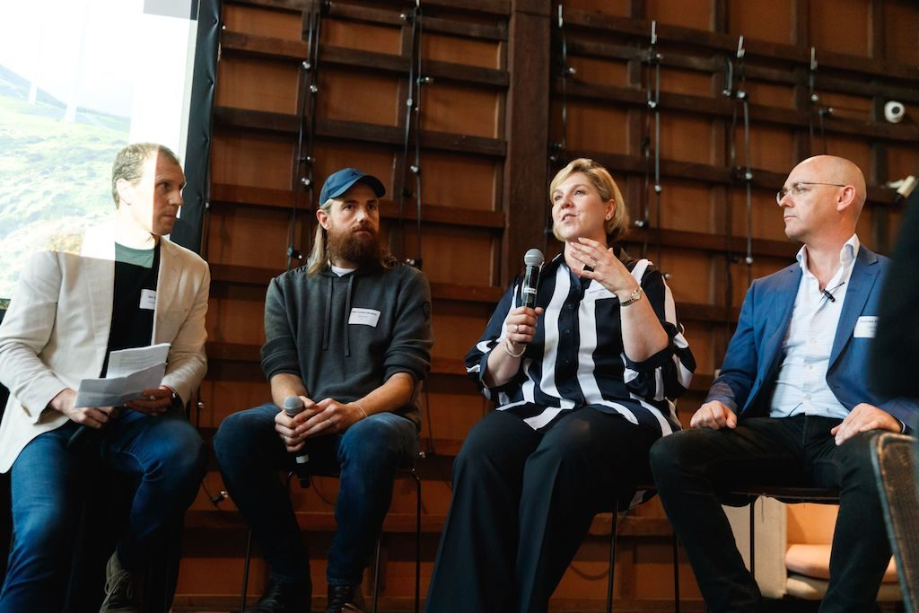 Innovation Bay panel speakers