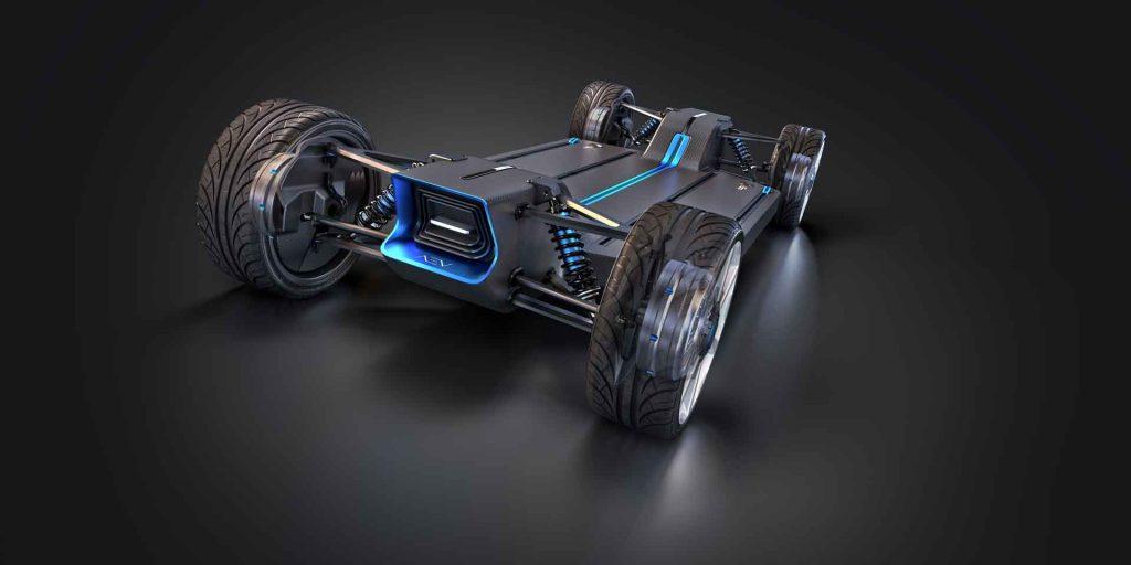 Autonomous EV by Applied Electric Vehicles robotic base