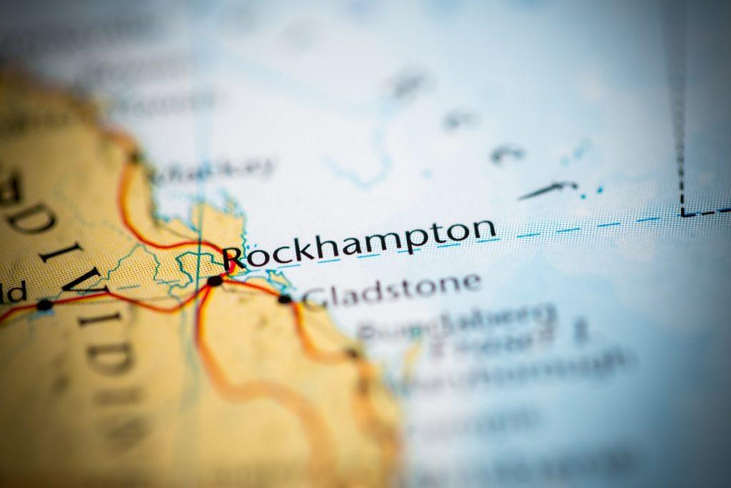 Map of Rockhampton