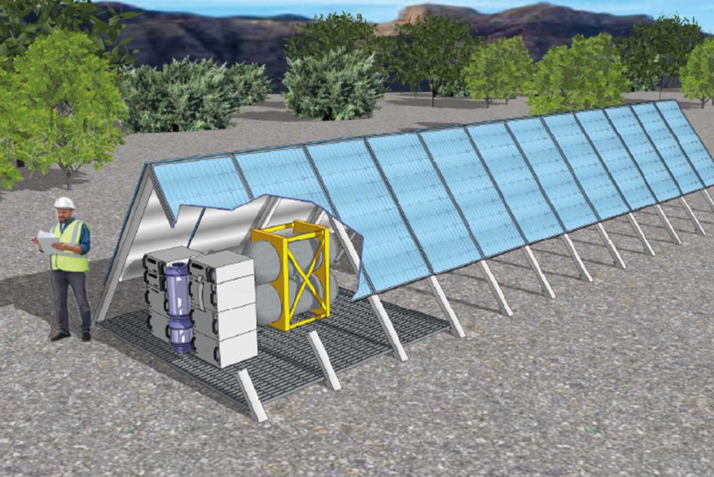 APA Renewable Methane Demonstration illustration