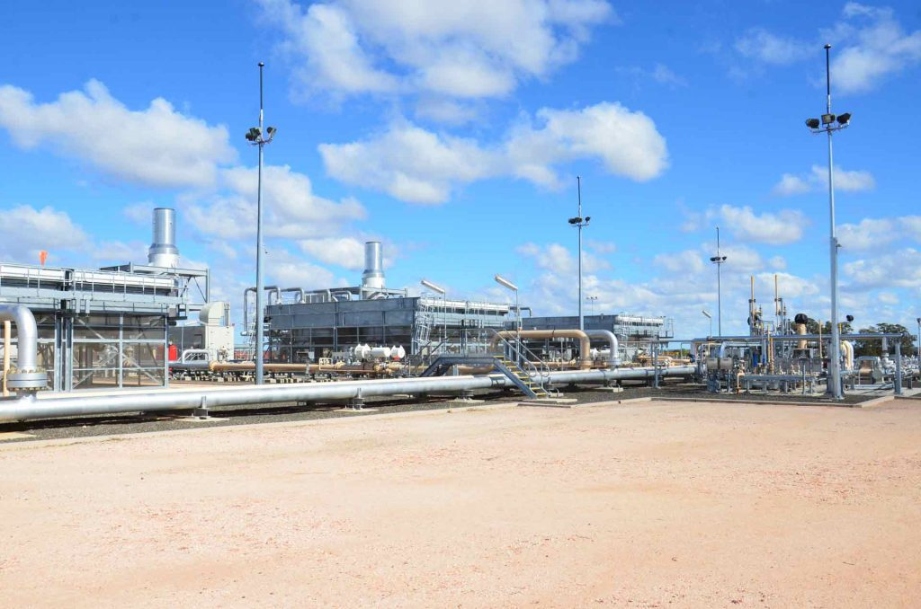 APA Renewable Methane Demonstration Project plant in south-central Queensland