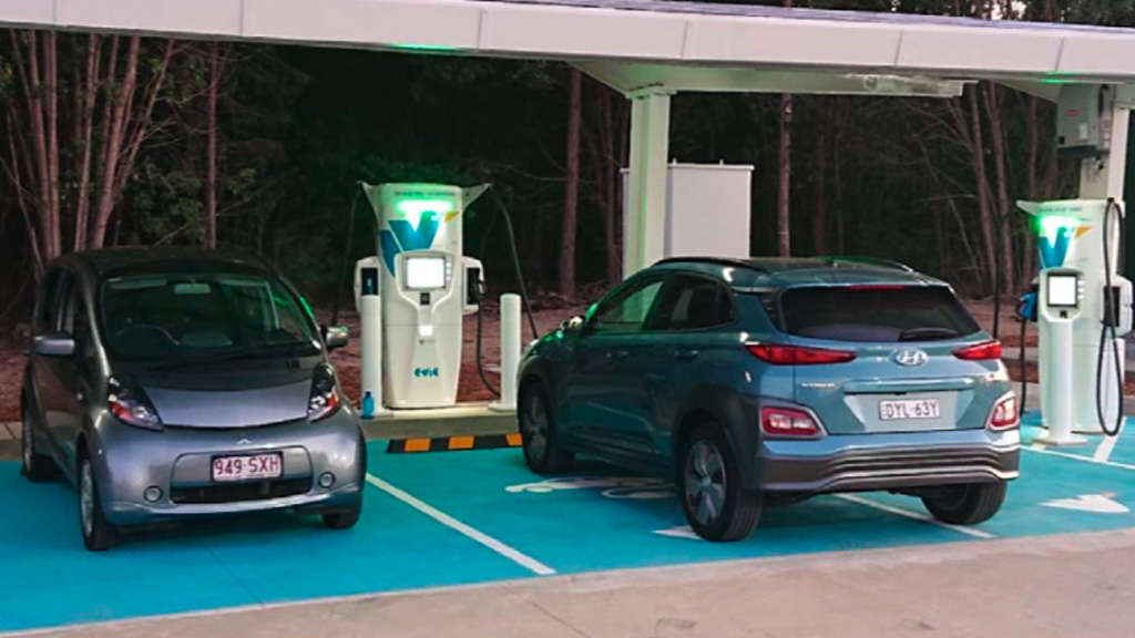 Image - Electric vehicle charging station
