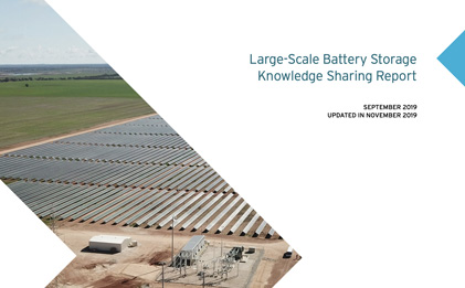 Image - Large-scale battery report cover