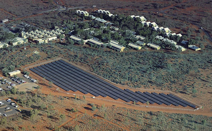 Image - Yulara solar farm