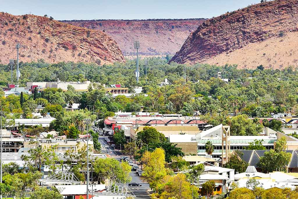 Alice Springs Landscape