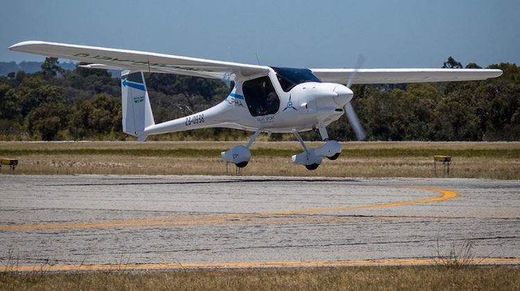 Renewable energy startup electro.aero electric plane
