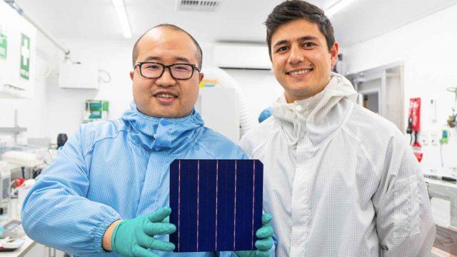 SunDrive founders David Hu and Vince Allen