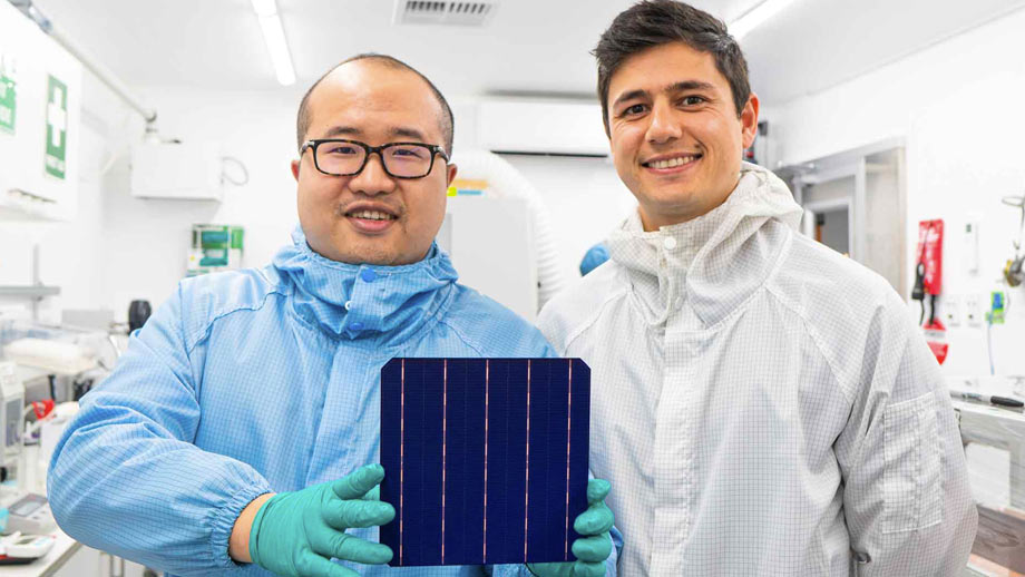 SunDrive founders David Hu and Vince Allen