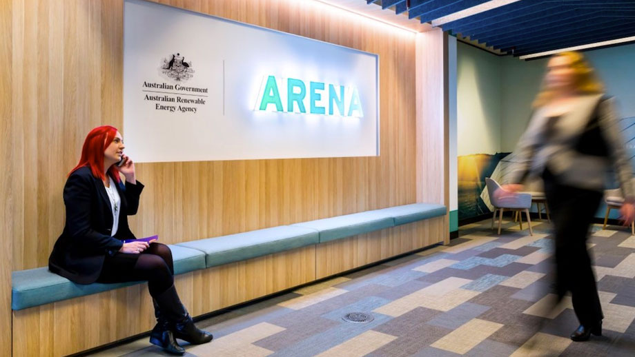 ARENA's Canberra office