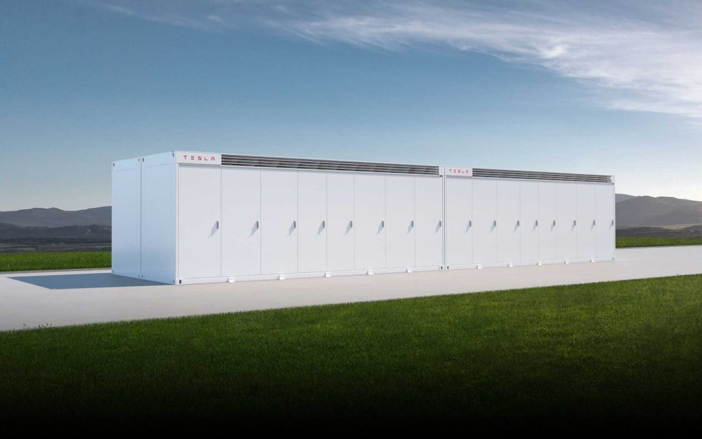 TESLA battery in Wallgrove, NSW