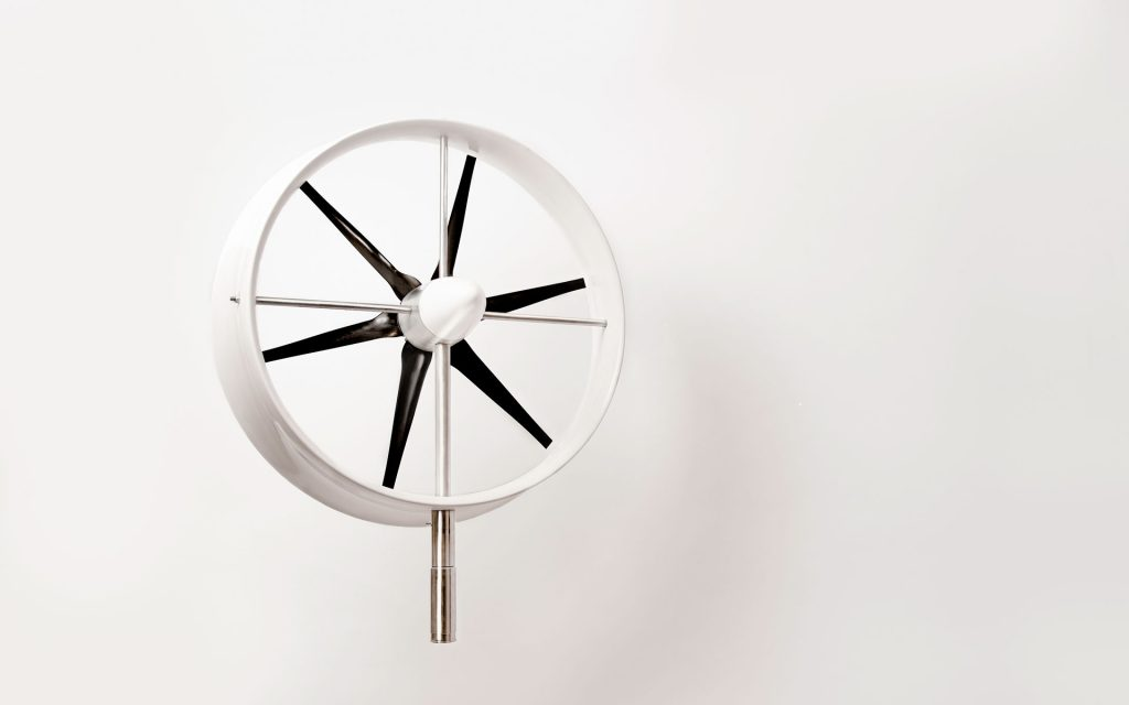 Diffuse Energy small wind turbine