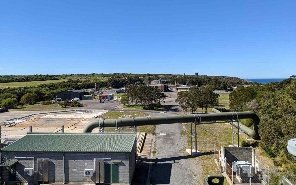 Sydney Water treatment plant at Malabar