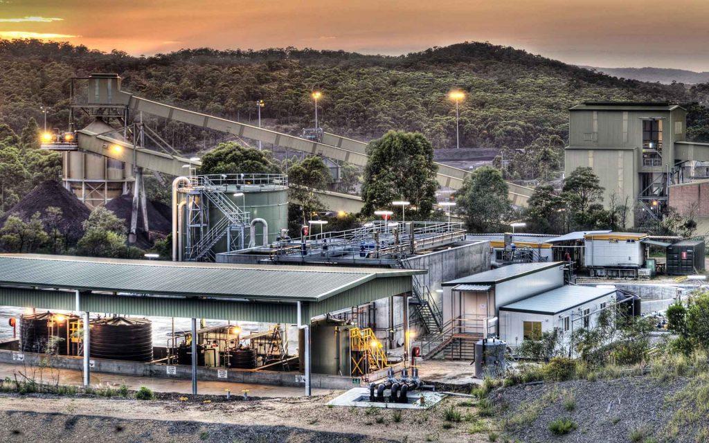 Centennial Coal plant