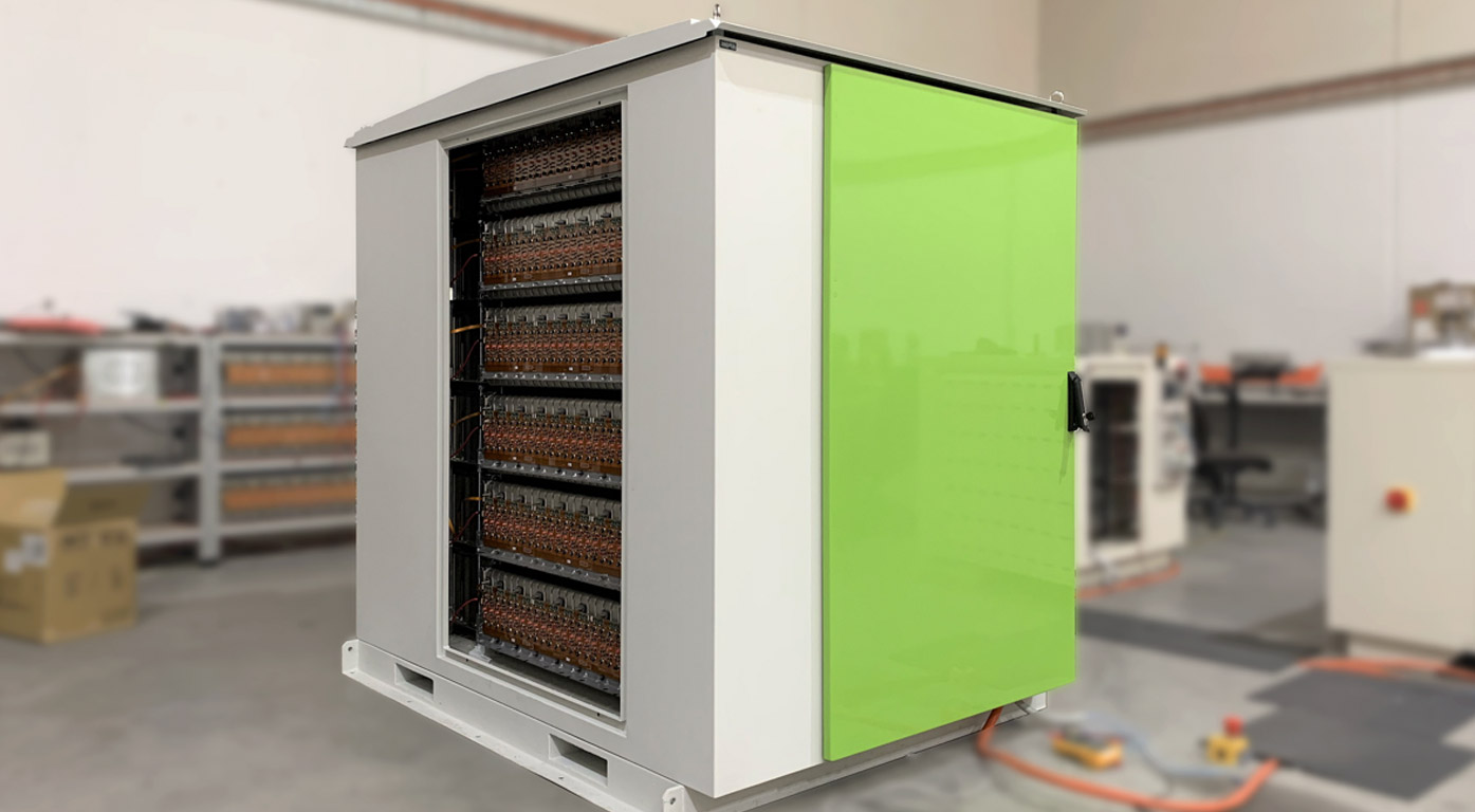 End-of-life EV batteries live on in commercial-scale storage Image